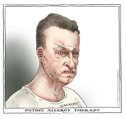 putin's allergy therapy by Joep Bertrams