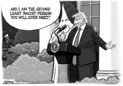 Second Least Racist Person by RJ Matson