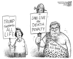 Capital punishment by Adam Zyglis
