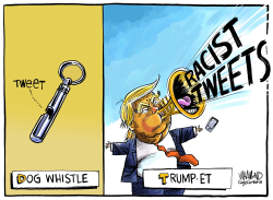 Dog Whistle VS Trumpet by Dave Whamond