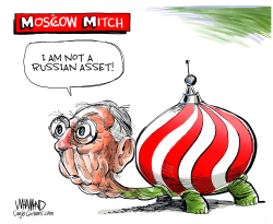 Moscow Mitch by Dave Whamond