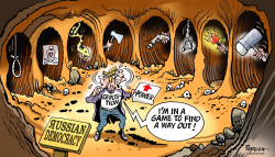 Opposition in Russia by Paresh Nath