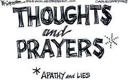 Thoughts and by Milt Priggee