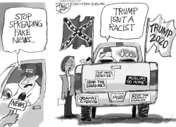 Trucking in Hate by Pat Bagley