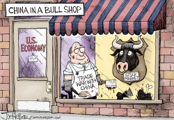 Trade War by Joe Heller