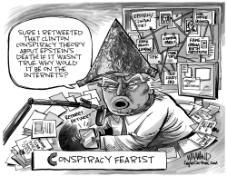 Conspiracy Fearist by Dave Whamond