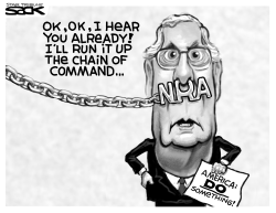 NRA Mitch by Steve Sack