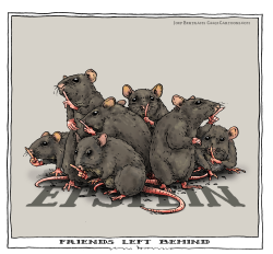 friends left behind by Joep Bertrams
