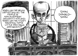 The Stephen Miller Show by Dave Whamond