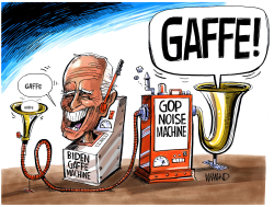 Biden Gaffe Machine by Dave Whamond