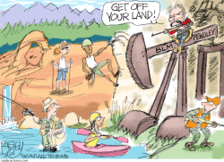 Public Lands by Pat Bagley