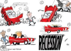 Recession Redux by Pat Bagley