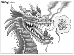 China and Farmers by Bill Day