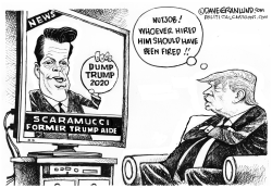 Scaramucci and Dump Trump by Dave Granlund