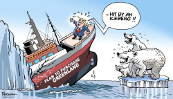 Trump Greenland plan by Paresh Nath