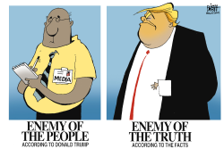 ENEMY OF THE PEOPLE by Randy Bish