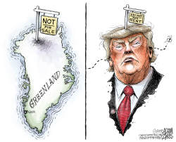 Political real estate by Adam Zyglis