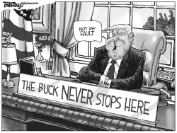 buck Never Stops Here by Bill Day