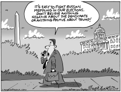 Russian Election Meddling by Bob Englehart