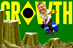 Growth Bolsonaro by Bart van Leeuwen