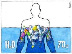 70% of Human Body is Water by Michael Kountouris