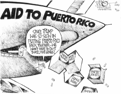 Aid to Puerto Rico by John Darkow