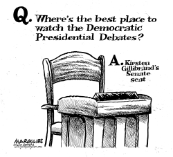 KIrsten Gillibrand Drops out of Presidential race by Jimmy Margulies