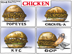 Chicken McConnell by Kevin Siers