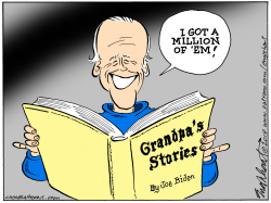 Joe Biden's Stories by Bob Englehart
