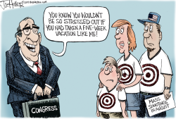 Congress Vacation by Joe Heller