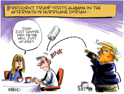 Sweet Trump Alabama by Dave Whamond