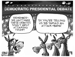 Democrat Strategy by Dave Whamond