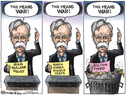 Bolton Fired by Kevin Siers