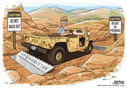 No Way Forward or Out in Afghanistan by RJ Matson