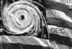 Mass Shootingcanes by Jeff Darcy