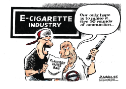 Flavored vapes ban by Jimmy Margulies