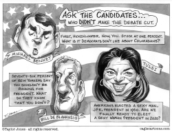 Ask the candidates part 2 by Taylor Jones