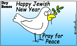 Happy Jewish New Year by Yaakov Kirschen