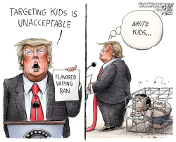 Vaping ban by Adam Zyglis