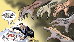 Syrian post-war chaos by Paresh Nath