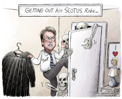 Justice Kavanaugh by Adam Zyglis