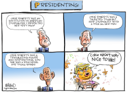 Presidenting by Dave Whamond