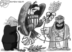 Saudi War Bird by Pat Bagley