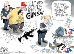 Cold Dead Hands by Pat Bagley