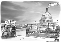 Greta Thunberg and the CO2 Congress by RJ Matson