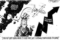 Oil Prices by Joe Heller