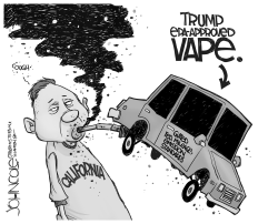 Trump vape by John Cole