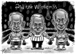 Israel Elections by Guy Parsons