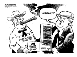 UN Climate Summit by Jimmy Margulies