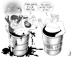 No War for Oil by Jose Neves